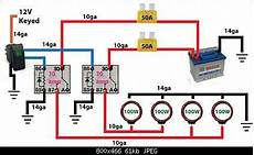 Road Light Wiring Diagram Automotive Electronics