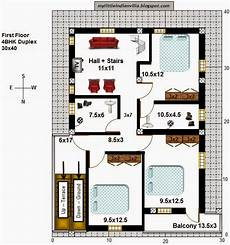 north facing duplex house plans my little indian villa 50 r43 4bhk duplex in 30x40