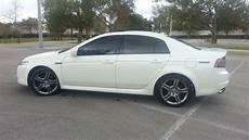sell used 2008 acura tl type s white diamond pearl black int low miles fact warranty in