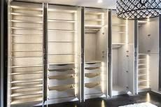 Closet Storage Ideas With Unique Lighting For Wardrobe Armoire