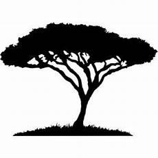 afrikanischer baum silhouette acacia tree tree elephant silhouette