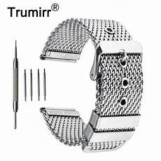 20mm 22mm Replacement Bracelet Band by 20mm 22mm 24mm Milanese Band For Hamilton Stainless