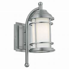 eglo portici 1 light stainless steel outdoor wall l 20639a the home depot
