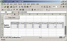ms excel 2003 copy range of cells from one sheet to another sheet matching on date values