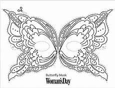 butterfly mask link to print http www womansday