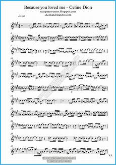 music score and backing track playalong of because you