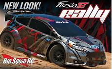 new look for the traxxas ford st rally 171 big squid