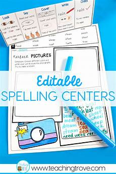 spelling worksheets using your own words 22514 editable spelling lists make planning simple spelling lists spelling activities sight word