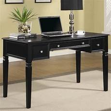 desk home office furniture black wood office desk steal a sofa furniture outlet los
