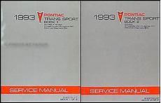 free download parts manuals 1993 pontiac trans sport electronic valve timing 1993 pontiac trans sport van repair shop manual original 2 volume set