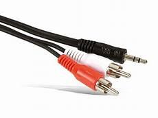 audio adapterkabel klinke auf cinch 1 5 m 3 5mm im shop