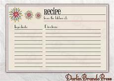 recipe card book template free editable recipe card templates for microsoft word