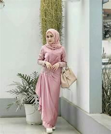 Model Baju Gamis Brokat Pesta