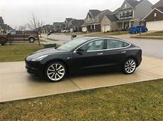 tesla model 3 black model 3 2018 black de01a only used tesla