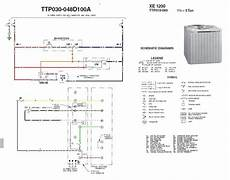 wiring diagram for outside ac unit find out here trane package unit wiring diagram sle