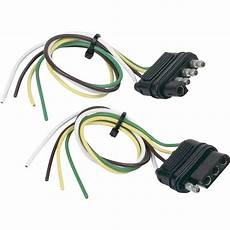 hopkins towing solutions 4 wire flat trailer wiring connector 12in vehicle end 12in