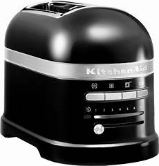 toaster schwarz kitchenaid artisan toaster schwarz onyx 5kmt2204eob