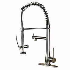 commercial kitchen sink faucets votamuta commercial kitchen sink faucets style single handle pull 713741860269 ebay