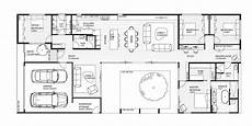 Courtyard House Plan Modern House