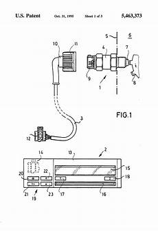 patent us5463373 device for verifying disturbances in signal transmission in motor vehicles
