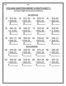 free printable math worksheets for grade 4 activity shelter