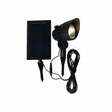 hton bay solar black led outdoor spotlight nxt 3149 the home depot