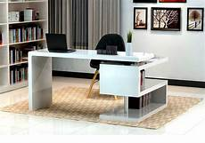 modern desk furniture home office modern white gloss office desk sj33 desks