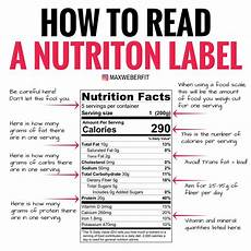 confused about how to read a nutrition label this photo