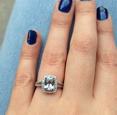 share your non diamond engagement rings weddingbee