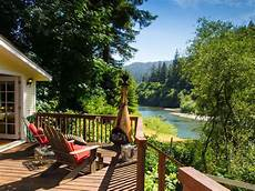 riverfront cottage in sonoma wine country river