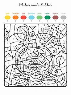 Malen Nach Zahlen Ausmalbilder Herbst Malen Nach Zahlen Kinder Elisabet Guerrero Auf Ideas