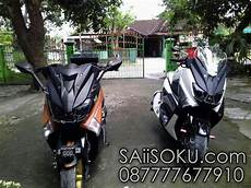 Modifikasi Xmax 250 by Modifikasi Cover Headl Yamaha Nmax Pakai Topeng Xmax