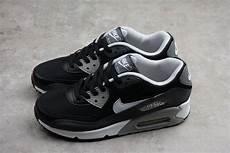 nike air max 90 essential black white grey wolf grey