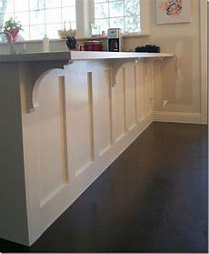 Kitchen Counter Trim by Ranch Dressing Corbels And Trim