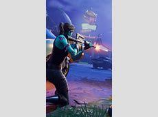 Download Fortnite Battle Royale Female Player Firing Free