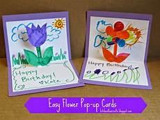 Ausgefallene Geburtstagskarten Selber Basteln - make your own birthday card pop up or fold up card with