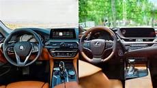 2019 bmw 5 series interior 2019 lexus es vs bmw 5 series interior