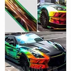 holographic rainbow neo chrome car vinyl wrap free