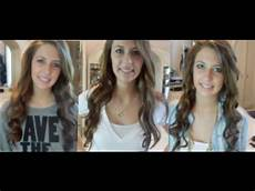 5 different ways to curl your hair spreadinsunshine15 youtube