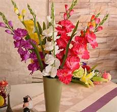 popular gladiolus silk flowers buy cheap gladiolus silk
