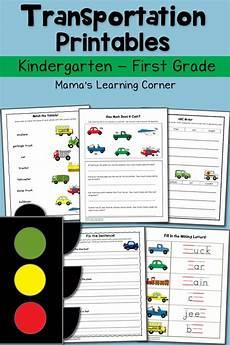 transportation worksheets 18484 transportation worksheets for kindergarten and grade mamas learning corner