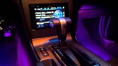 glowing interior quot audi style quot led lights led glow interior lights 2011