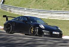 prototype porsche 911 gt3 rs attacks the nurburgring
