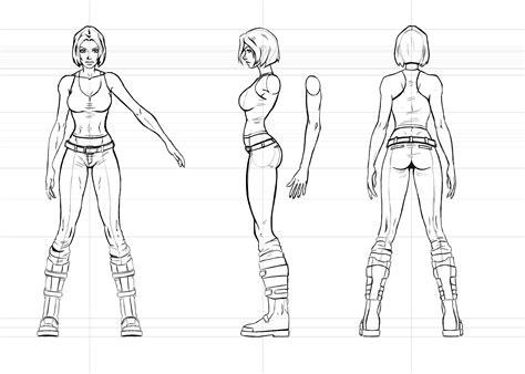 Female Anatomy Drawing