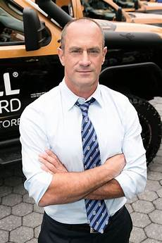 christopher meloni thinks he could do a hail of a job as
