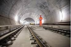 St Gotthard Tunnel - inside the gotthard base tunnel