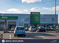 Europcar Car Rentals At Dublin Airport Ireland Stock Photo