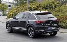 t rock vw t roc hits the streets of germany following its big