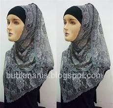 Kreasi Jilbab Modern Grosir Kerudung Brokat Lilit Permata