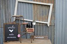 beautiful rustic vintage shabby chic style photo booth frames and display for hire